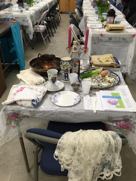 The Rabbi's table