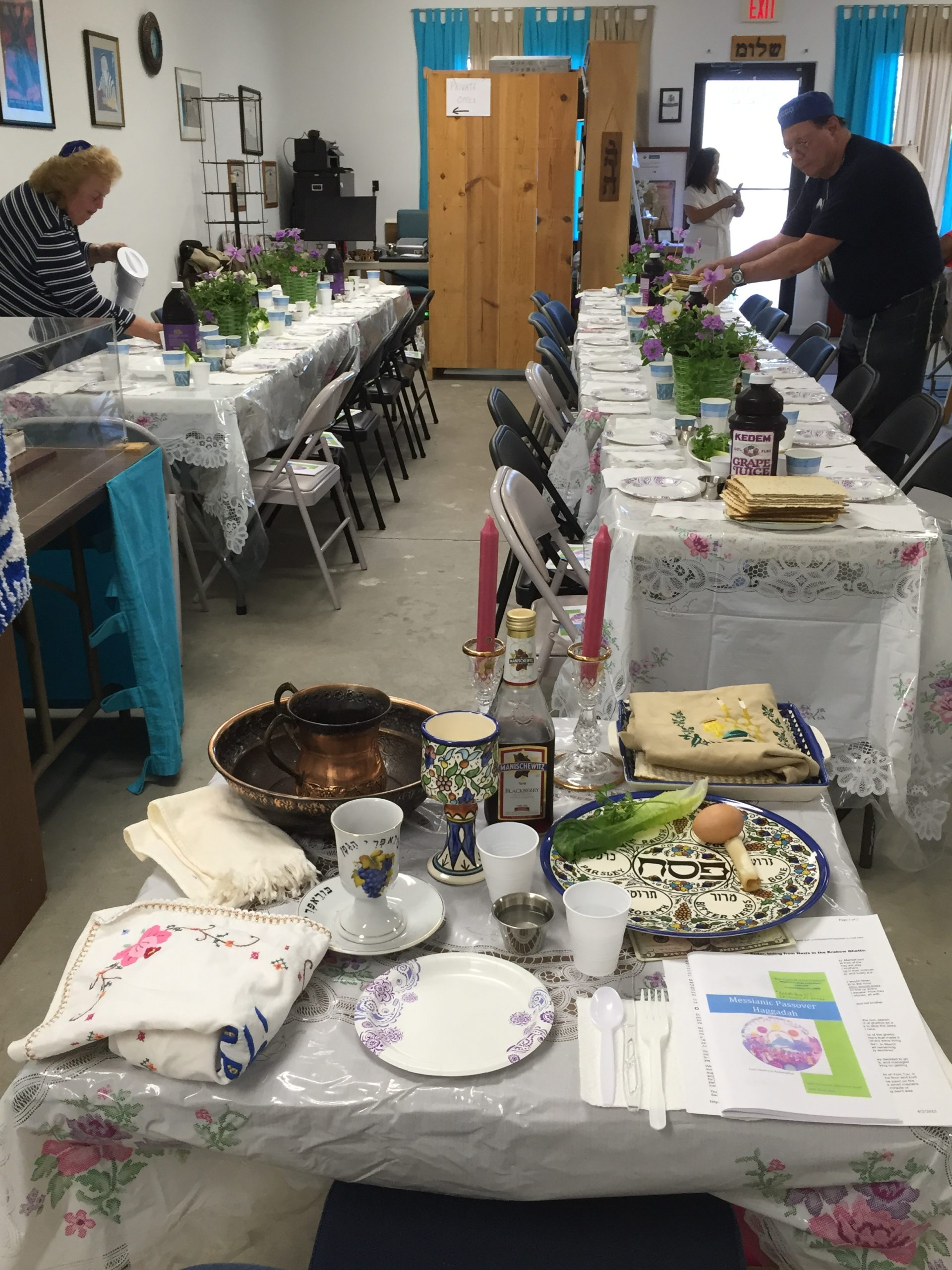 The Pesach Tables